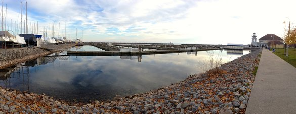 Bronte Harbour Marina Oakville Port Water Downtown Calm