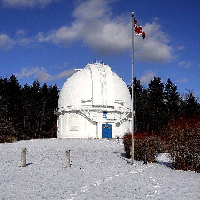 David Dunlap Observatory Richmond Hill Attraction Downtown