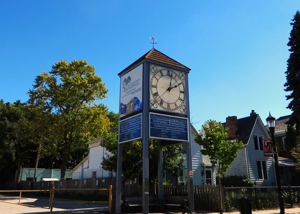 Windsor clock tower downtown house rentals