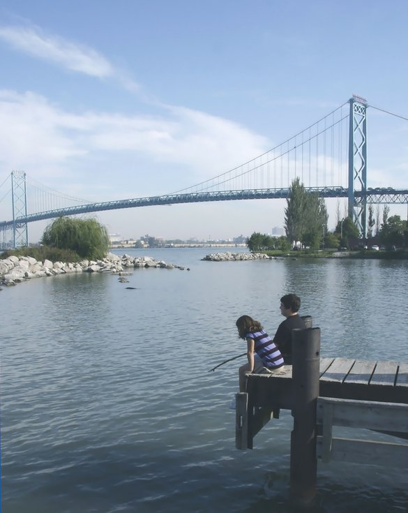 Windsor lake St Clair children fun fishing