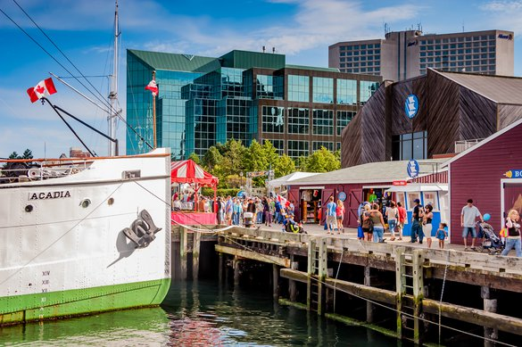 Halifax boat harbour harbor downtown attraction