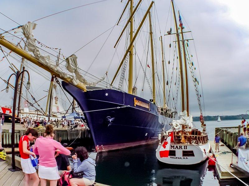 Halifax harbour harbor downtown boat .jpg