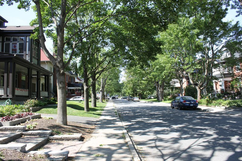 The Glebe Ottawa Neighborhood street residential
