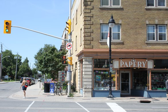 The Glebe Ottawa Neighborhood street store tourism