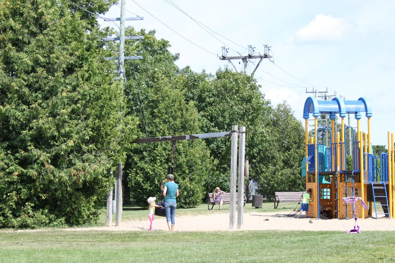 Bells Corner Residents Playground Park Ottawa Neighbourhood