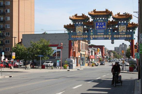 Chinatown Arch Entrance Ottawa Downtown Neighbourhood