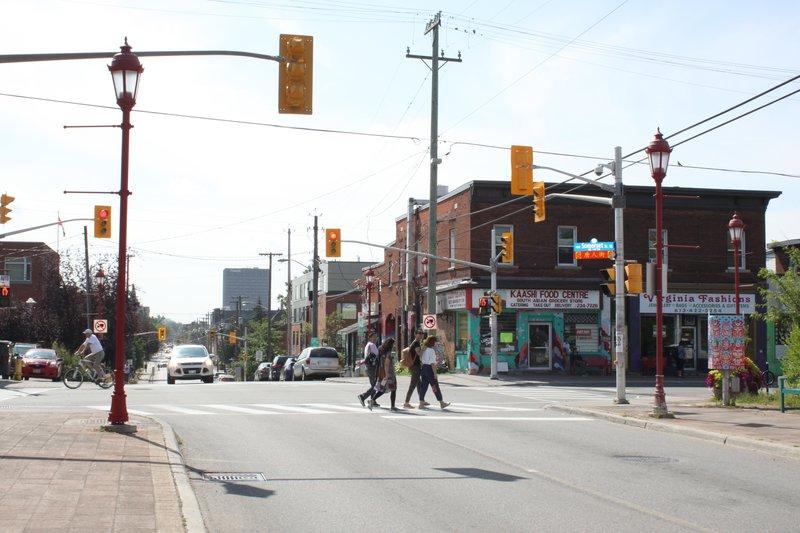 Chinatown Street Ottawa Neighbourhood downtown Pedestrian intersection
