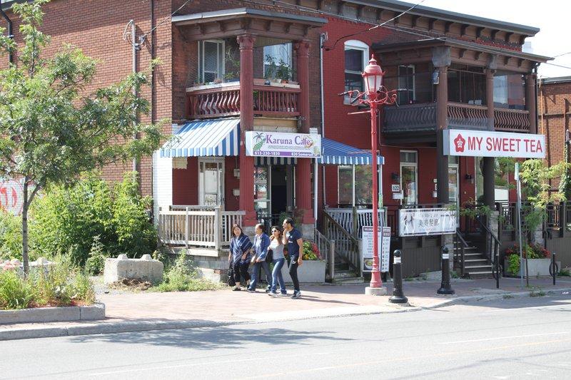 Chinatown shops street store rental rentals pedestrian Ottawa