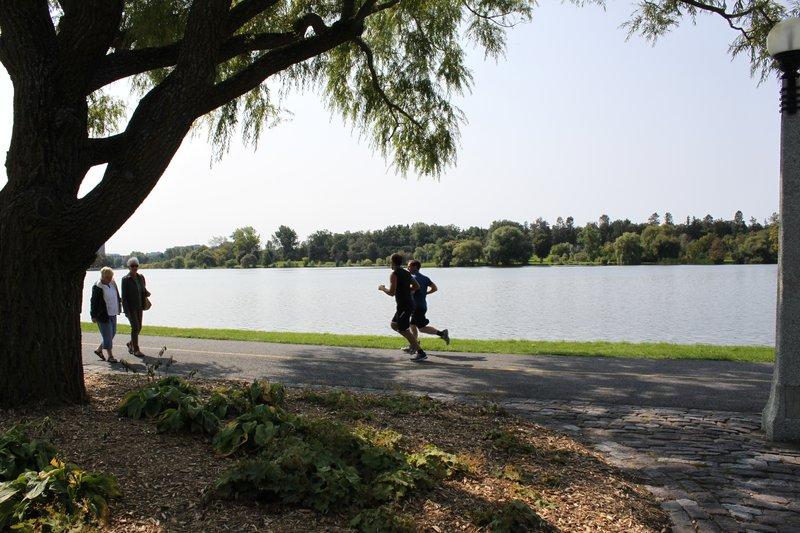 Dow's Lake Runners Runner Nature Ottawa