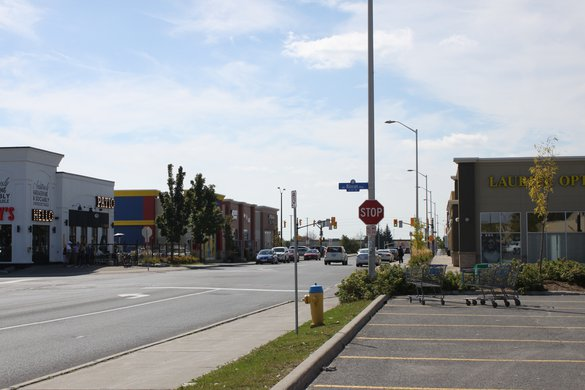 Nepean Downtown Ottawa neighborhood strip mall