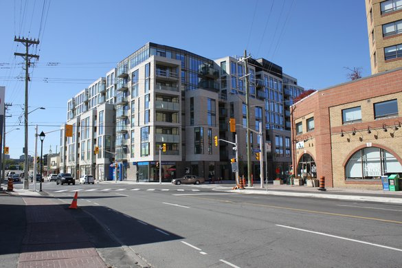 New Edinburgh Ottawa Neighborhood shops condominium rentals rental