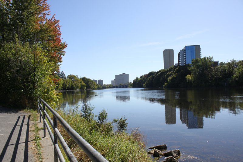 New Edinburgh Ottawa Neighborhood rideau canal cycle path