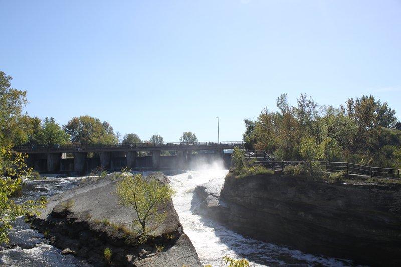 Hog's Back Park Carleton Heights Neighbourhood Ottawa Waterfall