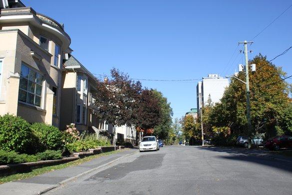 Lowertown Ottawa Neighborhood house rental street