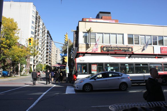 Centretown Square Street Busy Pedestrians Apartment for rent