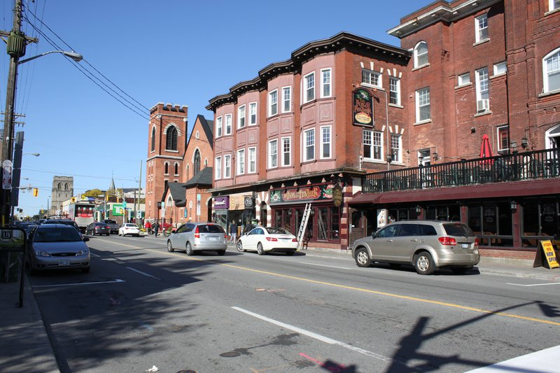 Centretown Shopping Area Street Retail Ottawa neighbourhood