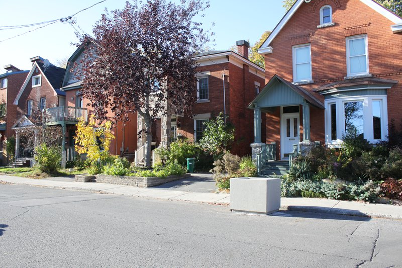 Centretown House Rental Rentals Ottawa Neighbourhood Street Colourful