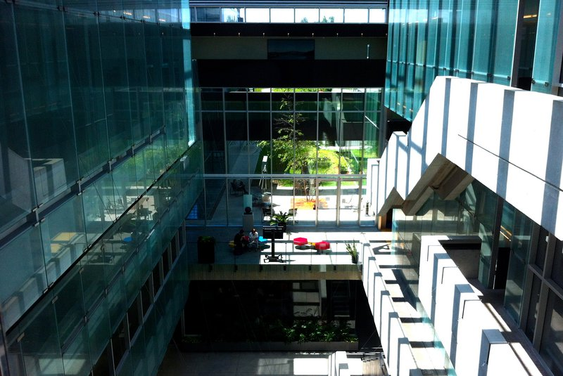 Kitchener building business glass panes blue.jpg
