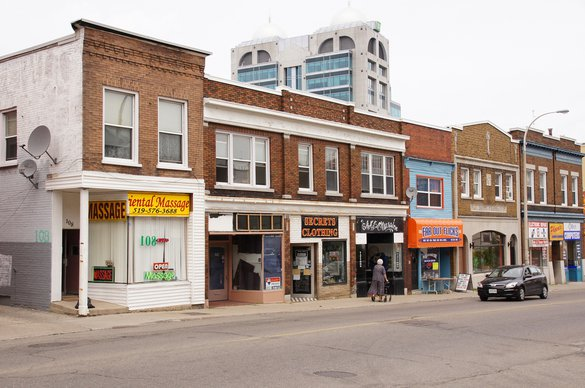Kitchener store front street apartment rentals.jpg