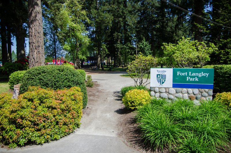 Langley park fort langley nature attraction.jpg