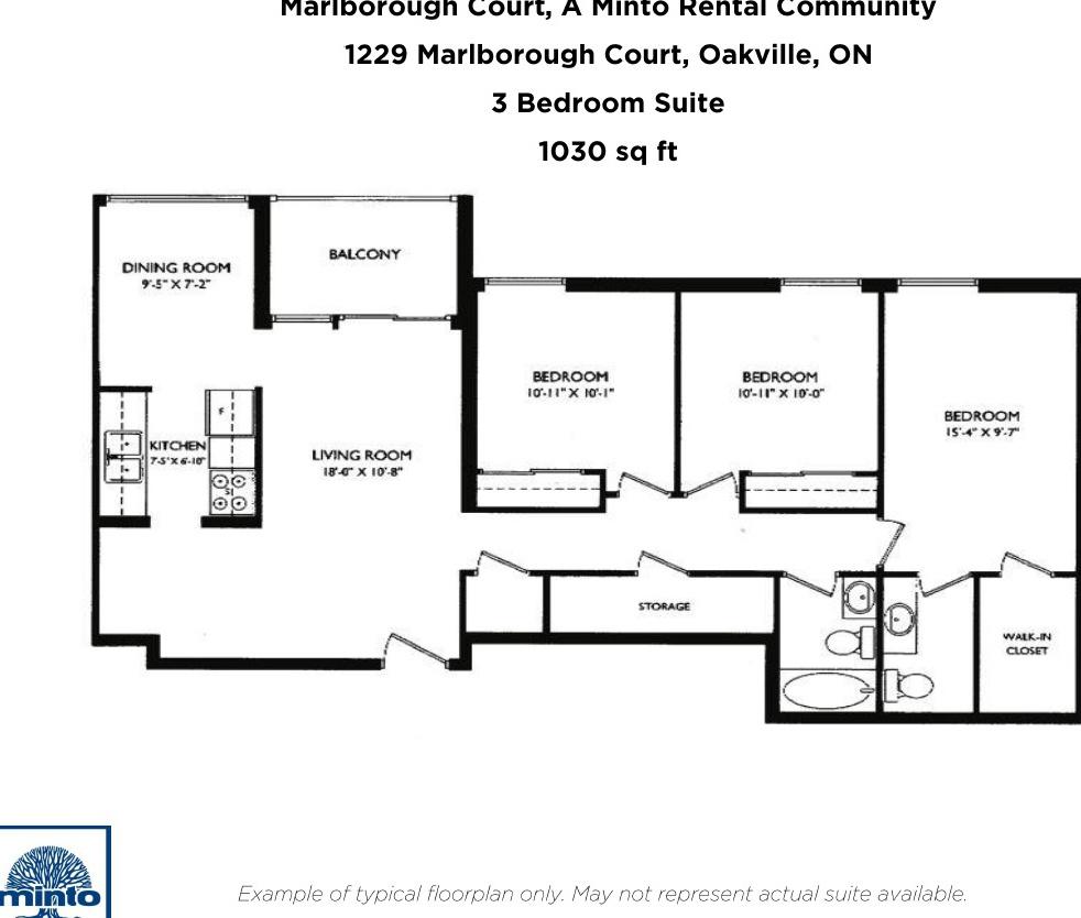 1229 Marlborough Court Oakville is For Rent – Marlborough House Floor Plan