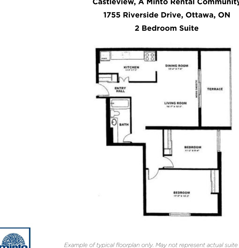 1755 Riverside Drive in Ottawa, ON is Now Available
