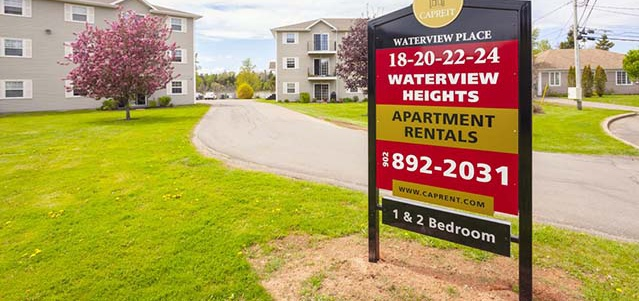 18-24 Waterview Heights in Charlottetown, PE is Now Available