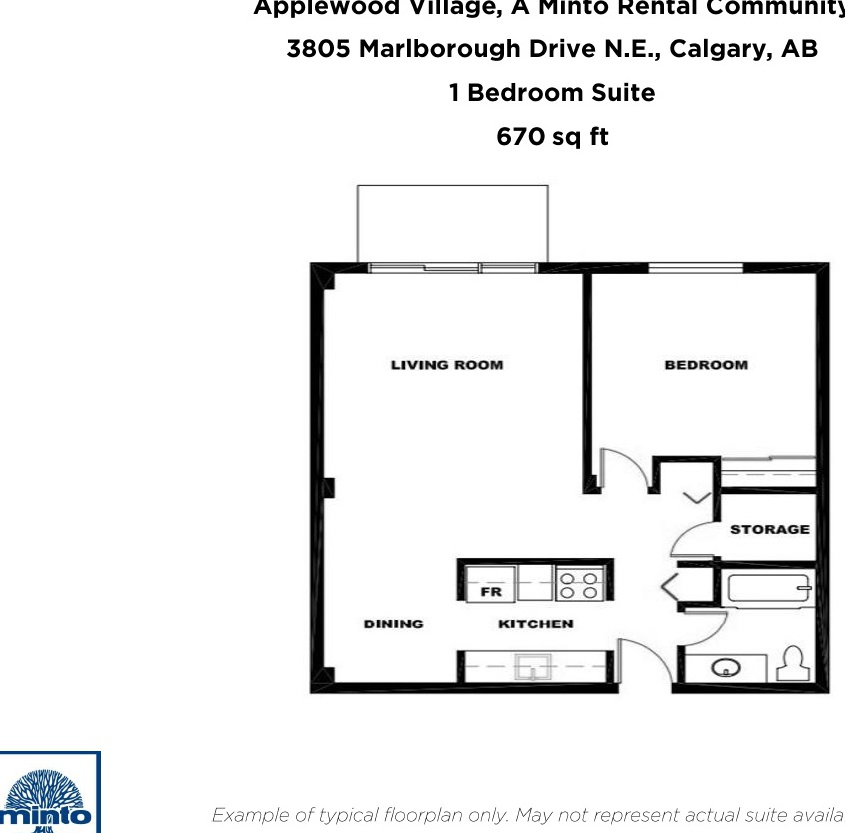 3805 Marlborough Drive N.E in Calgary, AB
