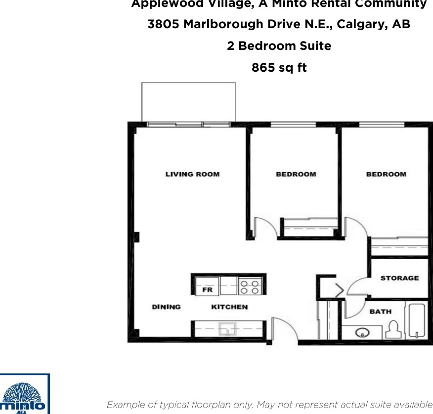 3805 Marlborough Drive N.E in Calgary, AB is Now Available