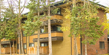 Apartment for rent at 550A Cougar St., Banff, AB. This is the outdoor building.