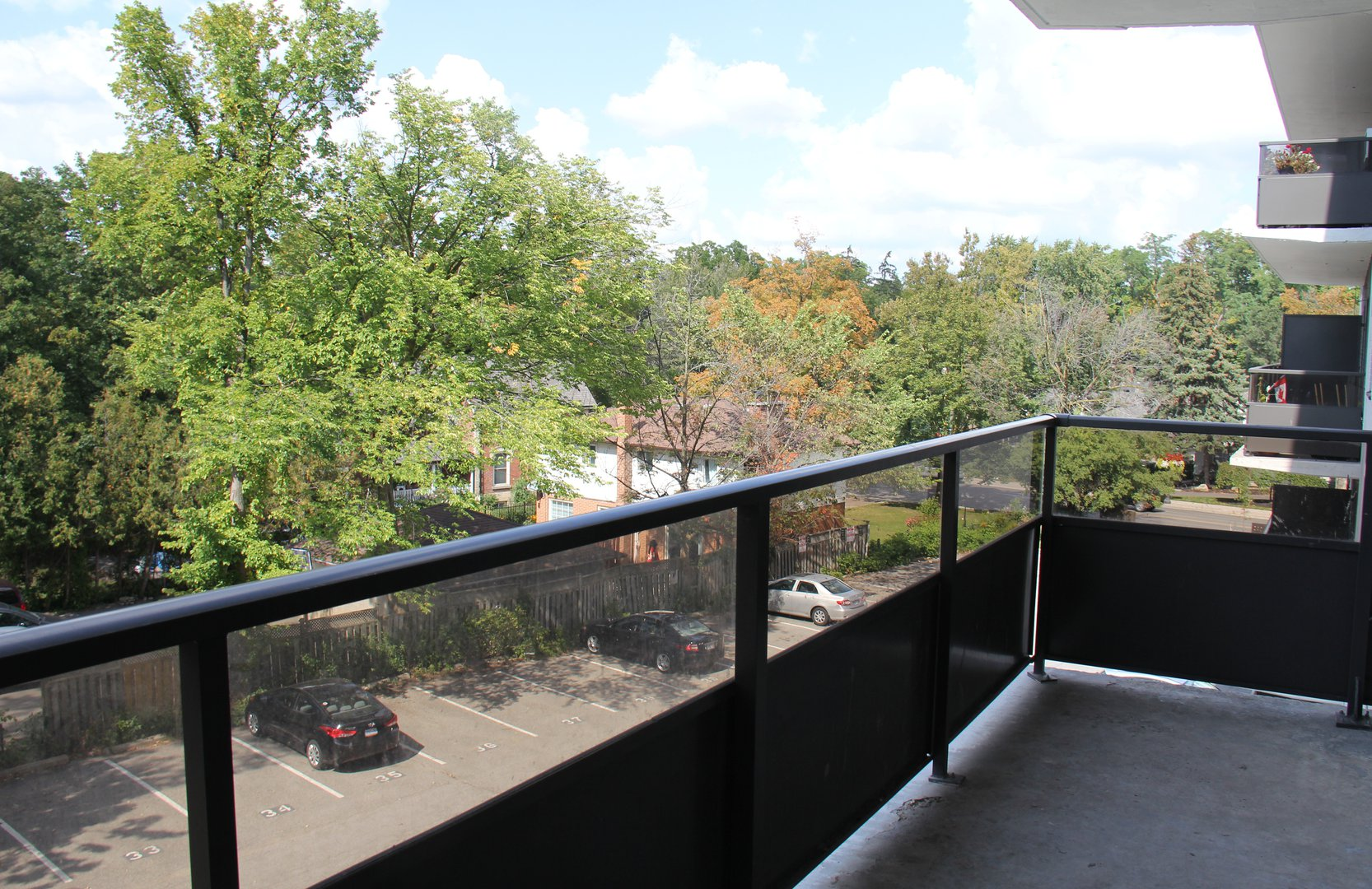 Apartment for rent at 141 Main St S, Brampton, ON. This is the patio terrace.