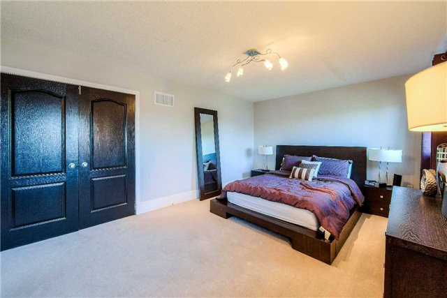 House for rent at 118 Earlsbridge Blvd, Brampton, ON. This is the bedroom with carpet.