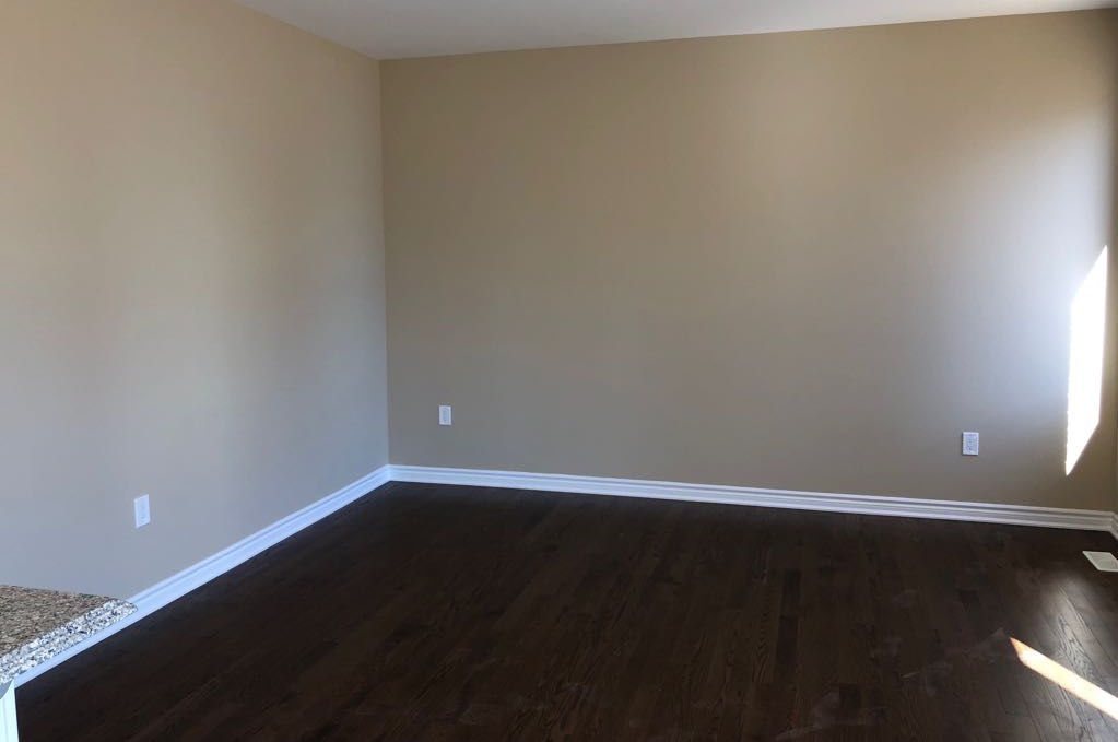 House for rent at 11000 Mississauga Rd | Unit: 66, Brampton, ON. This is the empty room with hardwood floor.