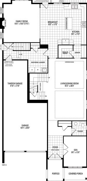 House for rent at 333 Rivermont Road, Brampton, ON. This is the plan.