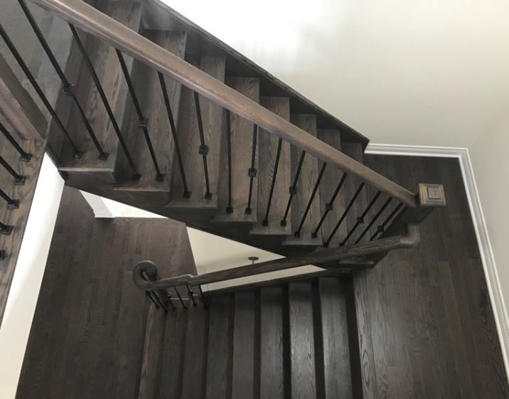 House for rent at 333 Rivermont Road, Brampton, ON. This is the stairs.
