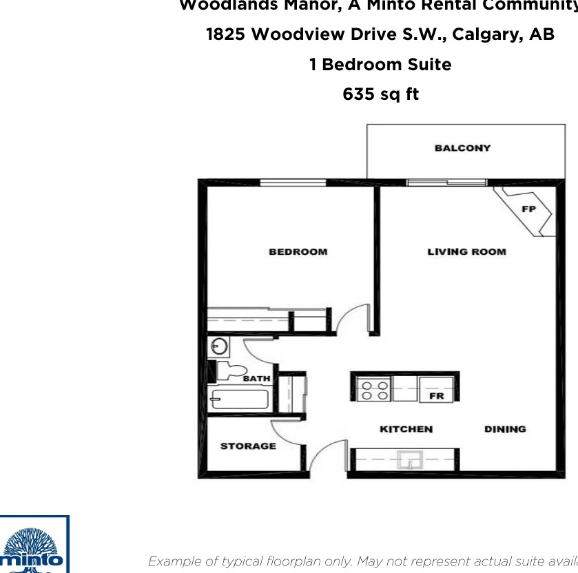 Mid-Rise-Apartment for rent at 1825 Woodview Drive S.W, Calgary, AB.