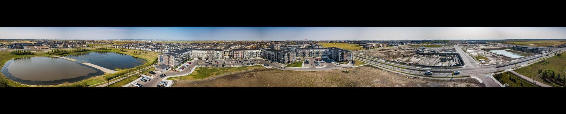 Mid-Rise-Apartment for rent at 355 Skyview Ranch Drive NE, Calgary, AB. Panoramic View of Vista