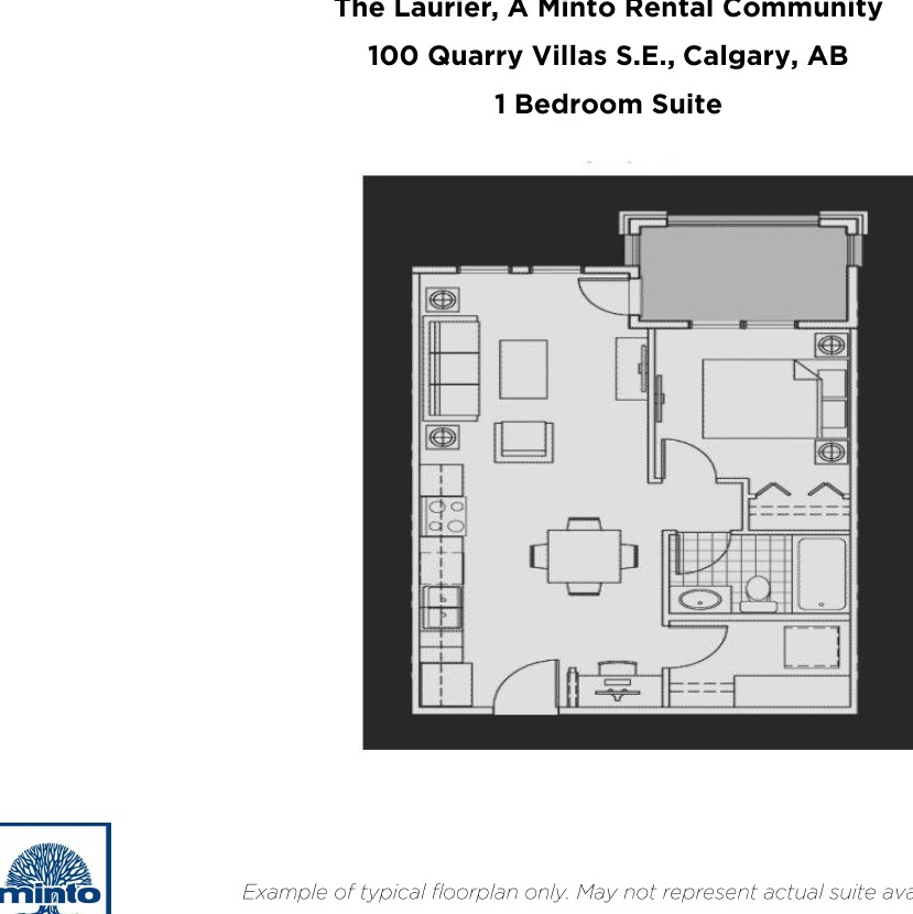 Apartment for rent at 100 & 200 Quarry Villas SE, Calgary, AB.