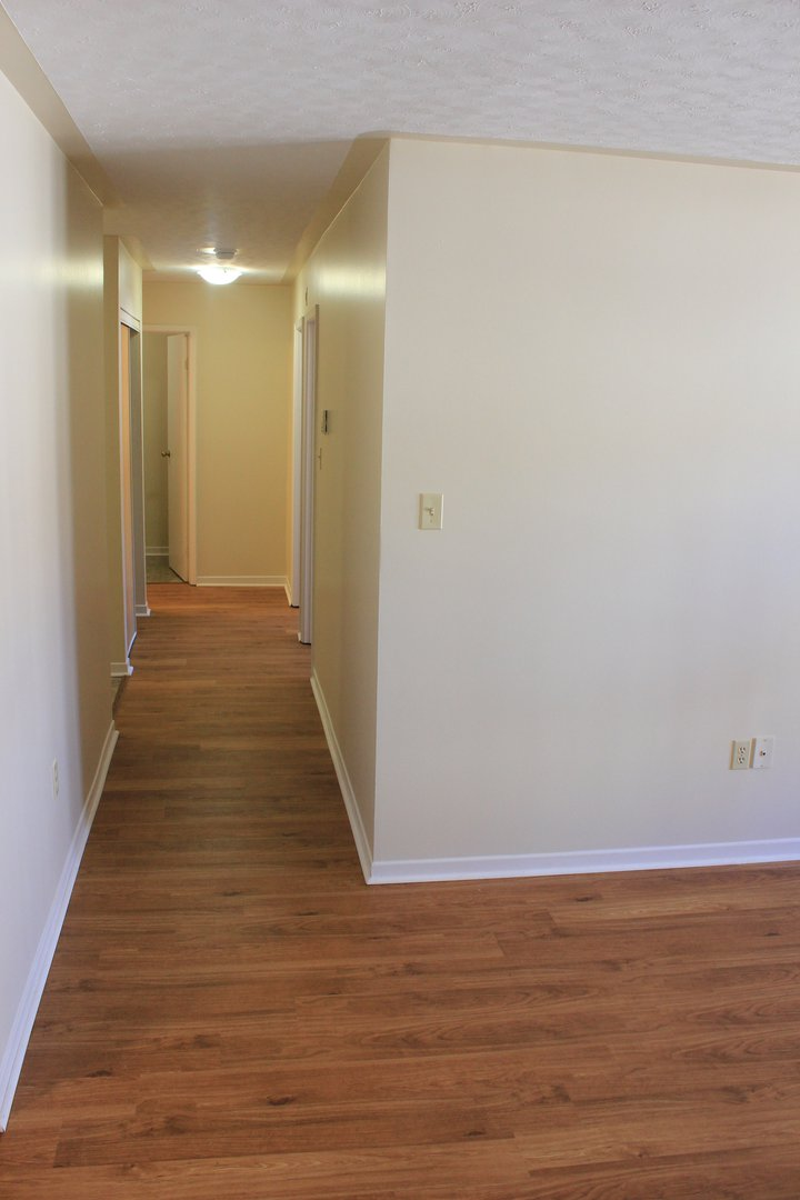 Apartment for rent at 96 Highfield Park Drive G, Dartmouth, NS. This is the corridor with hardwood floor.