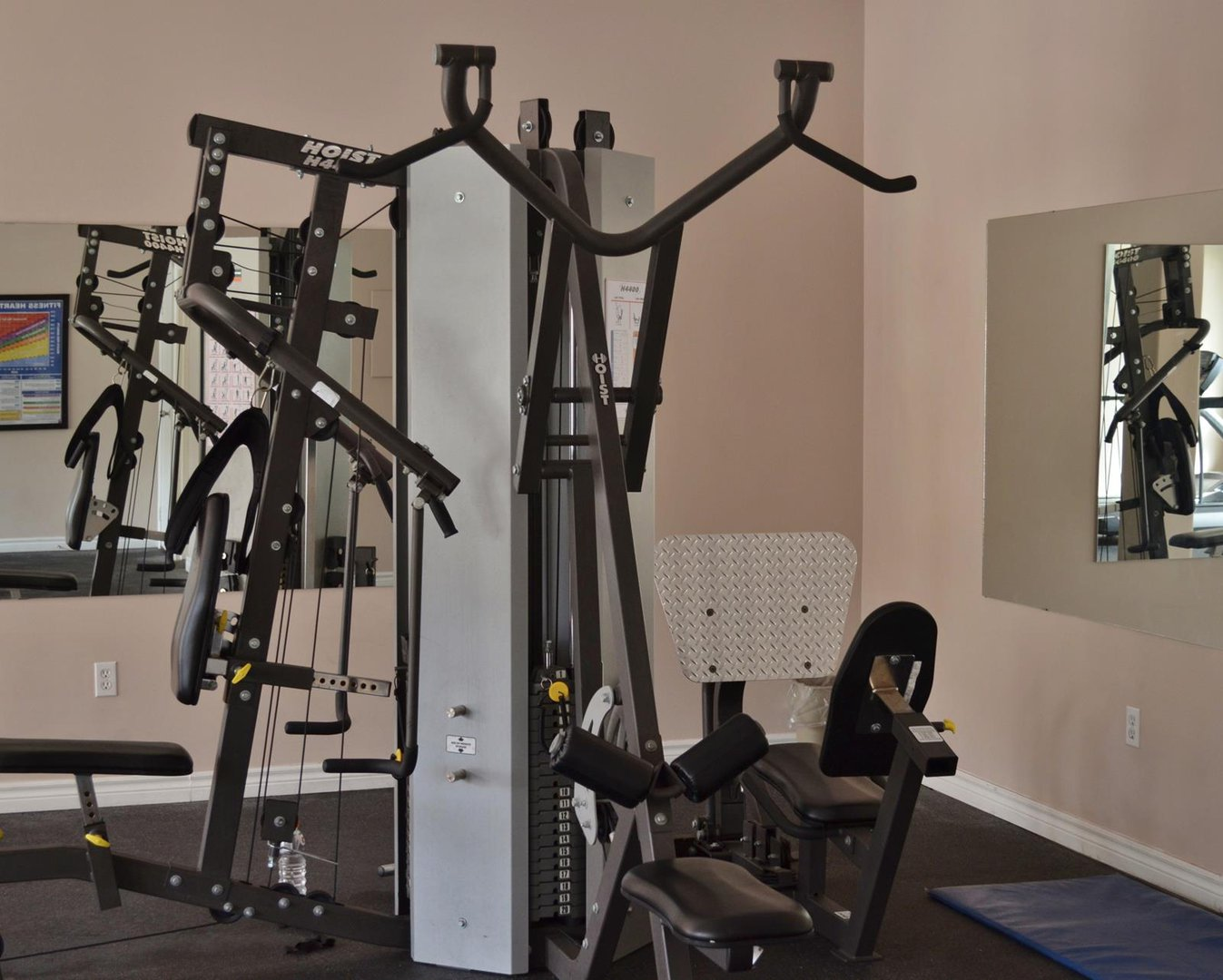 Apartment for rent at 96 Highfield Park Drive G, Dartmouth, NS. This is the gym.
