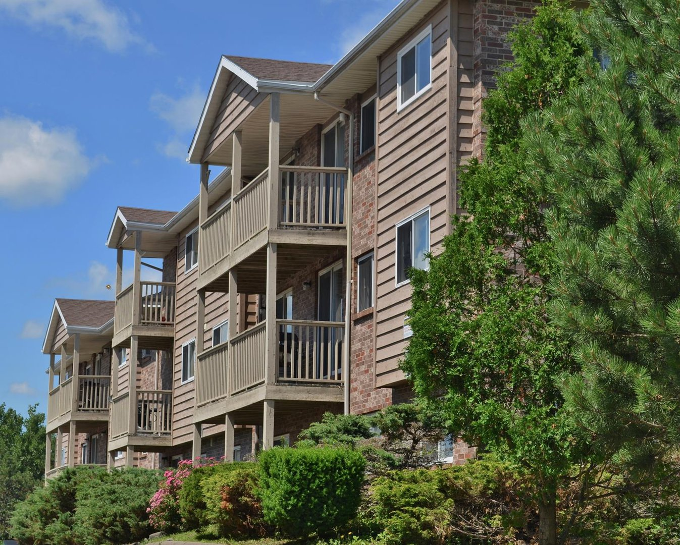 Apartment for rent at 96 Highfield Park Drive G, Dartmouth, NS. This is the outdoor building.