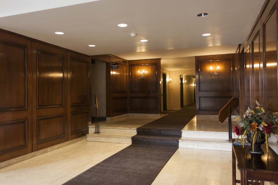 Not Sure for rent at 455 Racine Avenue, Dorval, QC. This is the foyer entrance with carpet.