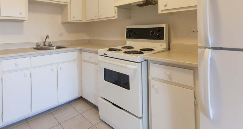 Not Sure for rent at 455 Racine Avenue, Dorval, QC. This is the kitchen with tile floor.