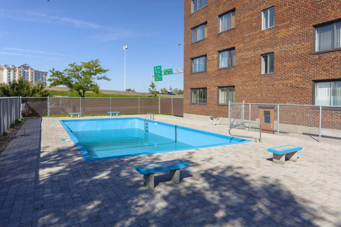 Not Sure for rent at 455 Racine Avenue, Dorval, QC. This is the pool with pool.