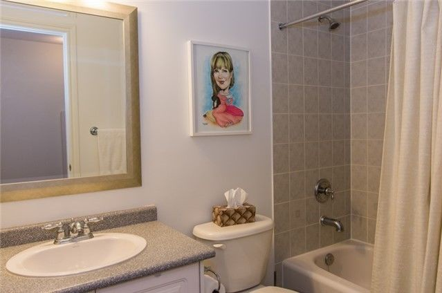 House for rent at 30 Triburnham Pl, Etobicoke, ON. This is the bathroom.
