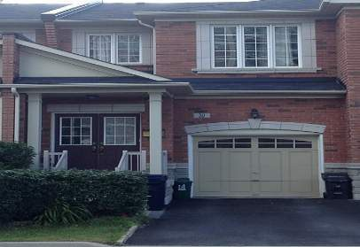 House for rent at 30 Triburnham Pl, Etobicoke, ON in craftsman style. This is the front of the house.