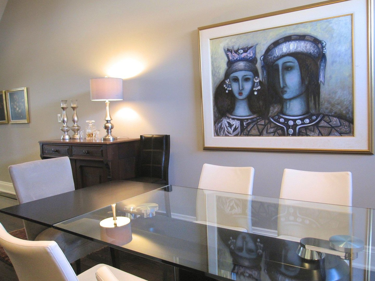 House for rent at 18 Algoma St, Etobicoke, ON. This is the dining area.