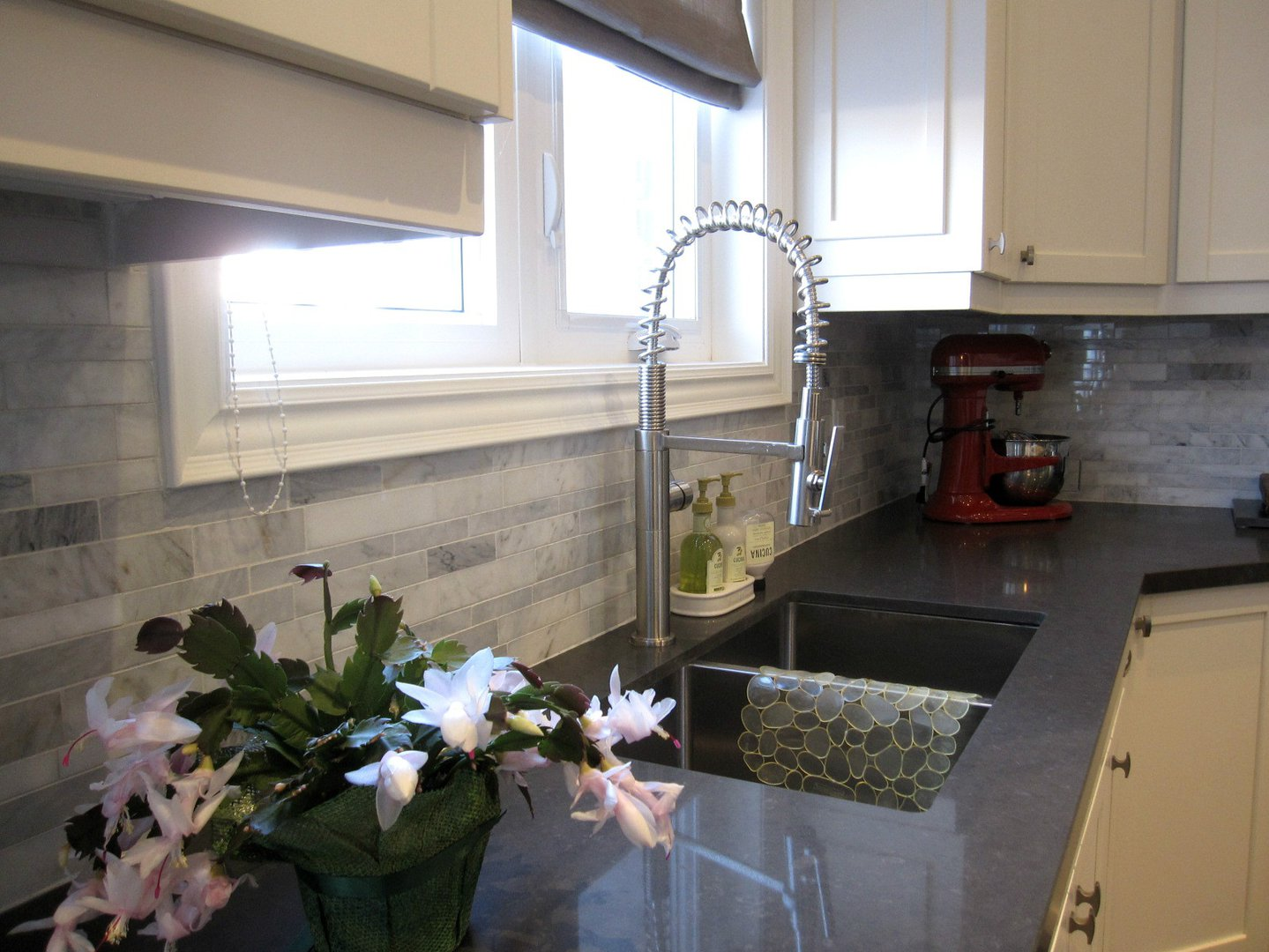 House for rent at 18 Algoma St, Etobicoke, ON. This is the kitchen with natural light.