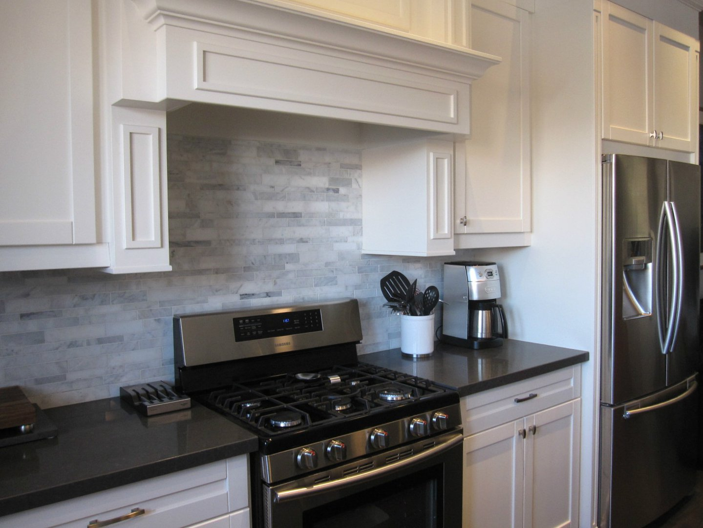 House for rent at 18 Algoma St, Etobicoke, ON. This is the kitchen with stainless steel.