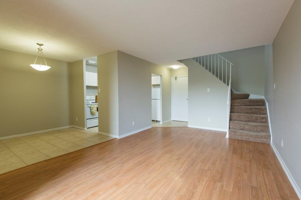 Apartment for rent at 7170, 7230, 7280 Darcel Ave, Etobicoke, ON. This is the empty room with hardwood floor and tile floor.